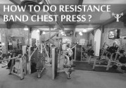 How To Do LR: Resistance Band Single-Arm Chest Press???