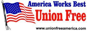 American Flag Bumper Sticker