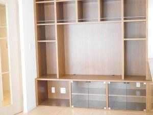 新築注文住宅・壁面TVボード