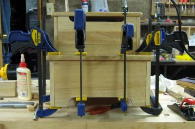 Clamping the Lower Step
