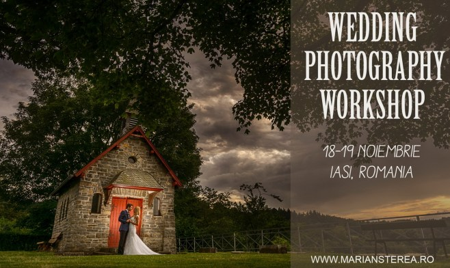 workshop fotografie de nunta Iasi