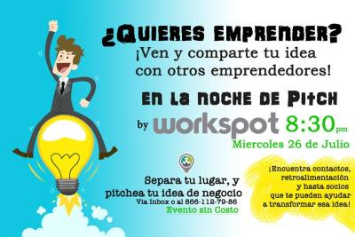 Workspot Noche de Pitch - Renta de Oficinas en Monclova - Business Center