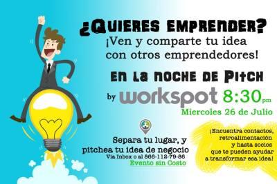 Workspot Noche de Pitch - Renta de Oficinas en Monclova - Business Center