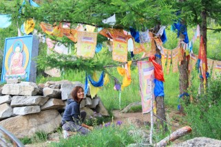Buddhist banners