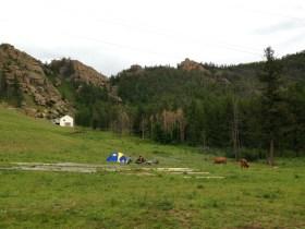 Camping in Terelj