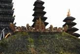 Bali Besakih Temples Roof