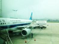 Switching to China Southern to Dalian