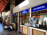 Car rental counters