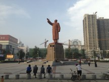 Welcomed by Mao