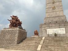 Impressive statues