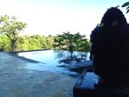 Puri Mangga Jungle House Pool and Statue