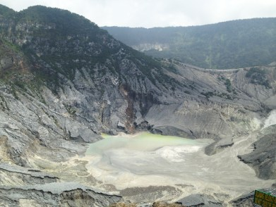 The intricate crater