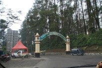 Entrance to the park