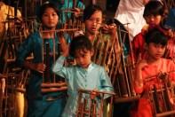 Udjo Children with Instruments