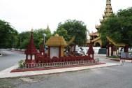 Mandalay Palace Entrance