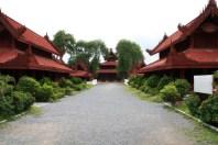 Mandalay Palace Houses