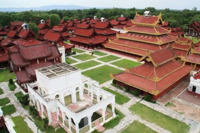 Mandalay Palace View