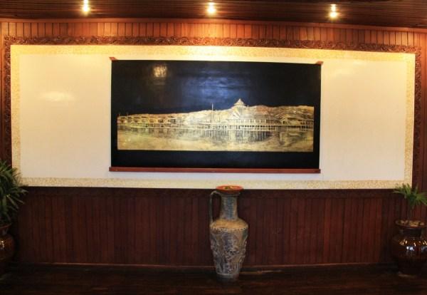 Paramount Inle Lobby Painting