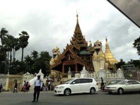 Shwedagon Pagoda Entrance