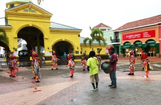 St Kitts Ferry Terminal Dance