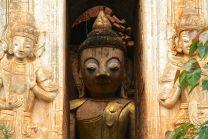 Indein Temple Complex Buddha