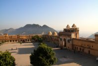 Amer Fort Courtyard View