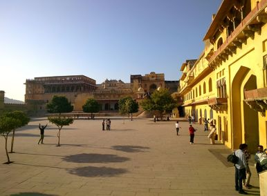 Amer Fort Main Courtyard