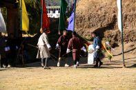 Archers Victory Dance Thimphu Bhutan