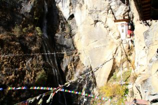 Bhutan Tigers Nest Building
