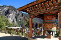 Bhutan Tigers Nest Prayer Wheel