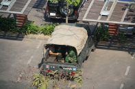 Dhaka Military Jeep