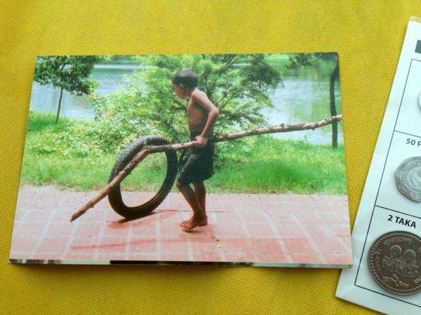 Cute Bangladesh postcard