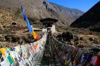 Iron Bridge View Bhutan