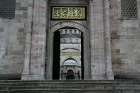 Istanbul Blue Mosque Entrance