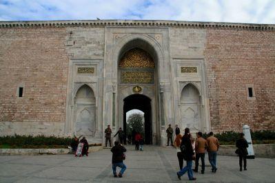 Istanbul Topkitpa Palace Gate