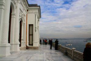 Istanbul Topkitpa Palace Terrace
