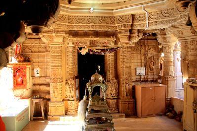 Jaisalmer Fort Jain Temple Room