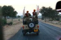 Jaisalmer Suryagarh Escort Jeep
