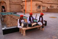 Jaisalmer Suryagarh Musicians