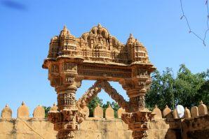 Lodurva Jain Temple Arch
