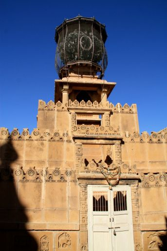 Lodurva Jain Temple Bird Cage