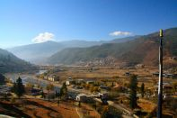 View from the Dzong