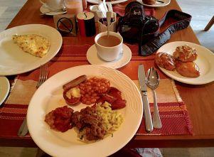 Breakfast at the Water Garden Brasserie