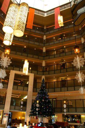 Radisson Blu Dhaka Lobby Lights