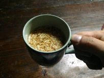 Butter Tea and Rice Puffs Bhutan