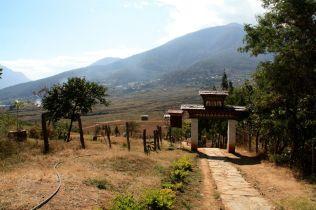 Chimi Lhakhang Gate