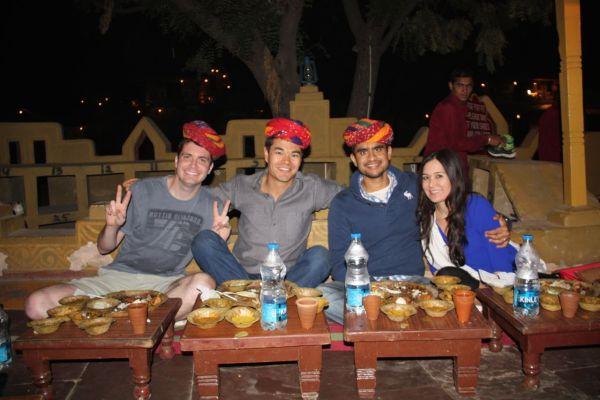 Chokhi Dhani Dinner