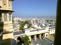 City Palace Udaipur City View