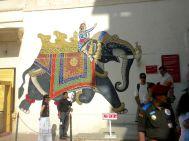 City Palace Udaipur Elephant Art