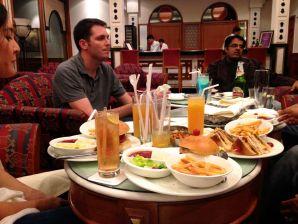 Dinner at Trident Jaipur